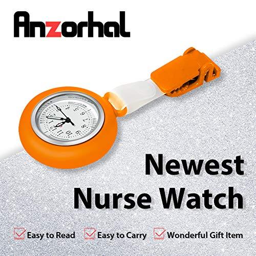 Nurses Watch,Nursing Watch,Nurse Watches for Women, Watch with Second Hand Clip on Watch Nursing Watches for Nurses 4
