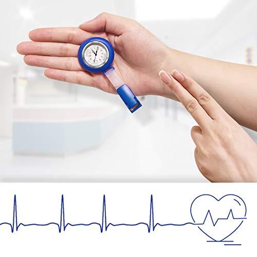 Nurses Watch,Nursing Watch,Nurse Watches for Women, Watch with Second Hand Clip on Watch Nursing Watches for Nurses 6