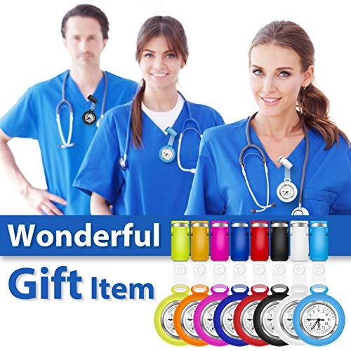 Nurses Watch,Nursing Watch,Nurse Watches for Women, Watch with Second Hand Clip on Watch Nursing Watches for Nurses 7