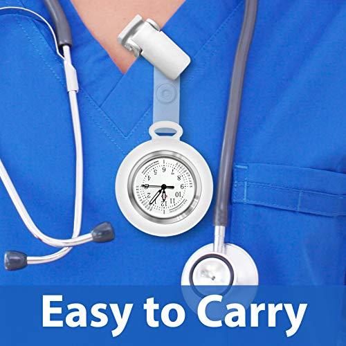 Nurses Watch,Nursing Watch,Nurse Watches for Women, Watch with Second Hand Clip on Watch Nursing Watches for Nurses 8