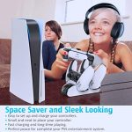 OIVO PS5 Controller Charger, Controller Charging Dock with 4 USB C Dongles and LED Strap for Sony Playstation 5, Fast… 18