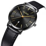 OLEVS Women Wrist Watches Ultra Thin 6.5mm Minimalist Business Dress Waterproof & Date & Leather Strap Slim Watches for… 21