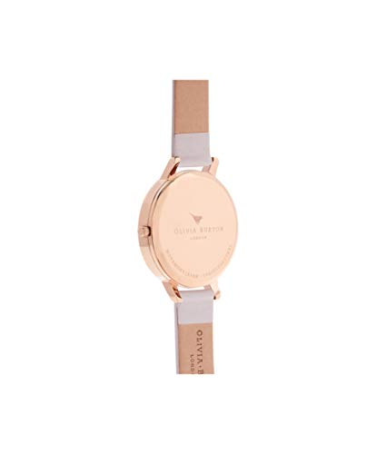 Olivia Burton Women's Analogue Japanese Quartz Watch with Leather Strap OB16BD95 3