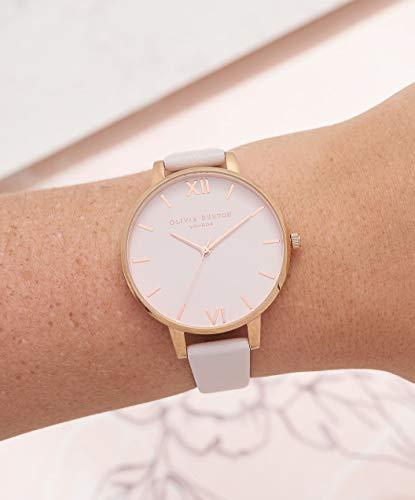 Olivia Burton Women's Analogue Japanese Quartz Watch with Leather Strap OB16BD95 5