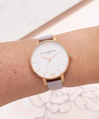 Olivia Burton Women's Analogue Japanese Quartz Watch with Leather Strap OB16BDW16 3