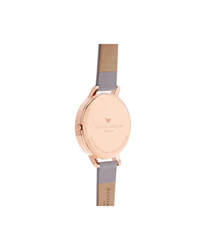 Olivia Burton Women's Analogue Japanese Quartz Watch with Leather Strap OB16BDW16 4