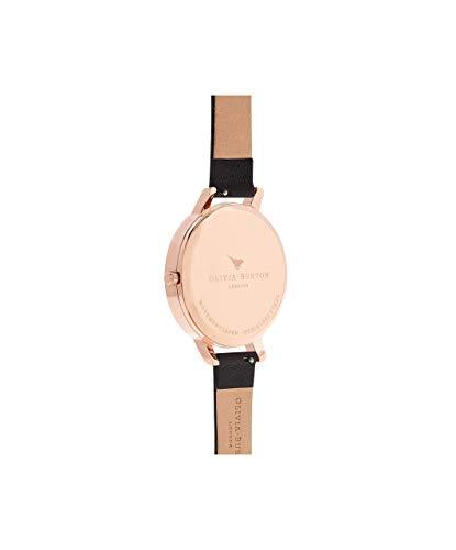 Olivia Burton Women's Analogue Japanese Quartz Watch with Leather Strap OB16BF04 3