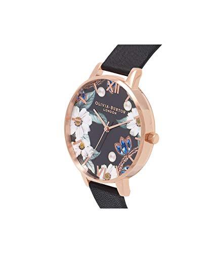 Olivia Burton Women's Analogue Japanese Quartz Watch with Leather Strap OB16BF04 4