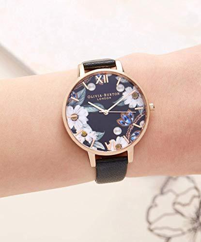 Olivia Burton Women's Analogue Japanese Quartz Watch with Leather Strap OB16BF04 5