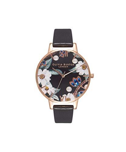 Olivia Burton Women's Analogue Japanese Quartz Watch with Leather Strap OB16BF04 1