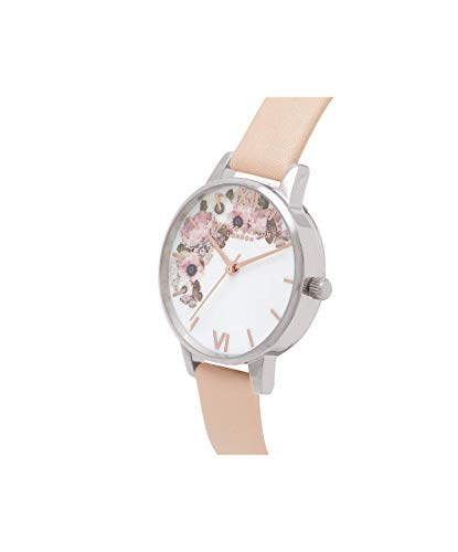 Olivia Burton Women's Analogue Japanese Quartz Watch with Leather Strap OB16EG75 4