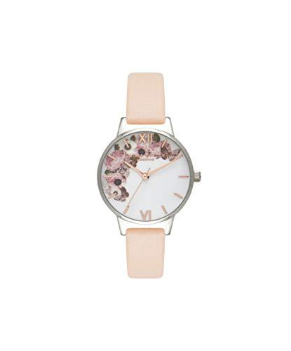 Olivia Burton Women's Analogue Japanese Quartz Watch with Leather Strap OB16EG75 1
