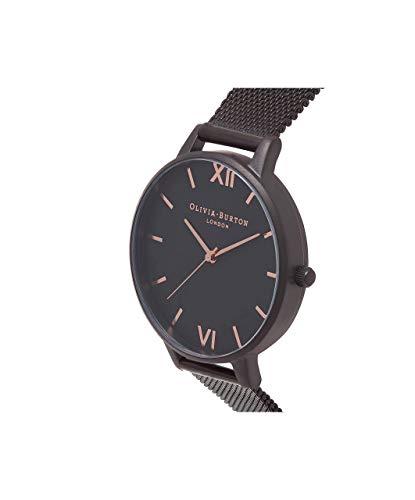 Olivia Burton Women's Analogue Japanese Quartz Watch with Stainless Steel Strap OB15BD83 3