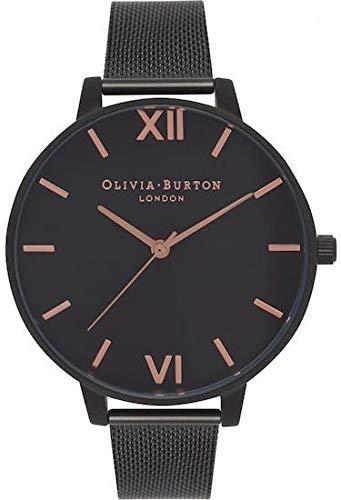Olivia Burton Women's Analogue Japanese Quartz Watch with Stainless Steel Strap OB15BD83 1