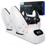 Orzly PS5 Controller Charging Station made for PlayStation 5 Console DualSense PS5 Controllers - Twin Docking Wireless… 17