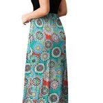PCEAIIH Women's Casual Sleeveless/Long Sleeve Maxi Dress Loose Long Dresses with Pockets 12