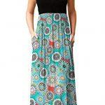 PCEAIIH Women's Casual Sleeveless/Long Sleeve Maxi Dress Loose Long Dresses with Pockets 11