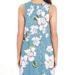PCEAIIH Women's Sleeveless/Long Sleeve Pockets Casual Swing T-Shirt Summer Dress 10