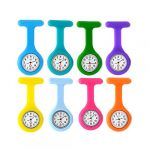PCL Media ltd Nurses Fob Watch Brooch for Women for The Health Care Industry Nurses WatchSilicon 8
