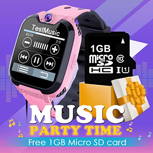 PTHTECHUS Kids Smart Watch for Boys Girls Phone Game Smart Watch for Kids [1GB Micro SD Included] Children Music Player… 4