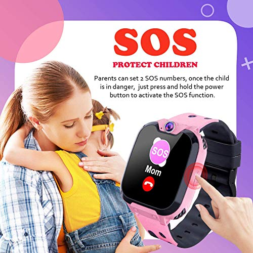 PTHTECHUS Kids Smart Watch for Boys Girls Phone Game Smart Watch for Kids [1GB Micro SD Included] Children Music Player… 5