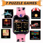 PTHTECHUS Kids Smart Watch for Boys Girls Phone Game Smart Watch for Kids [1GB Micro SD Included] Children Music Player… 23