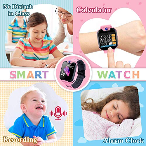 PTHTECHUS Kids Smart Watch for Boys Girls Phone Game Smart Watch for Kids [1GB Micro SD Included] Children Music Player… 8