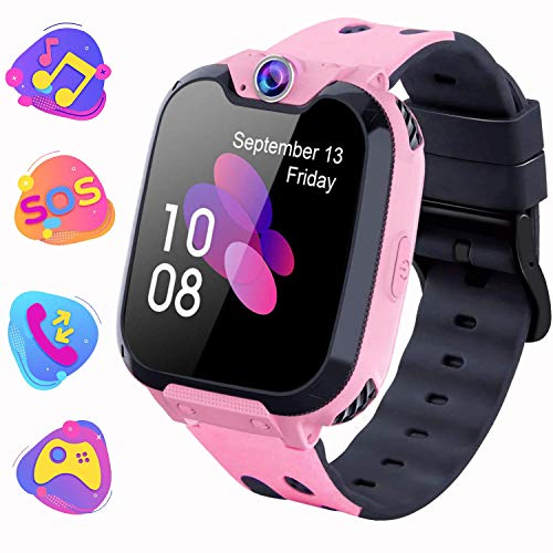 PTHTECHUS Kids Smart Watch for Boys Girls Phone Game Smart Watch for Kids [1GB Micro SD Included] Children Music Player… 1