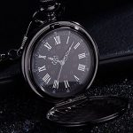 Pangda Pocket Watch Men Watch Engraved Pocket Watch to Gift for Husband on Anniversary 20
