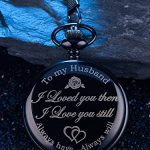 Pangda Pocket Watch Men Watch Engraved Pocket Watch to Gift for Husband on Anniversary 21