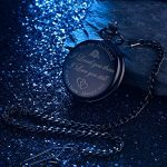 Pangda Pocket Watch Men Watch Engraved Pocket Watch to Gift for Husband on Anniversary 22