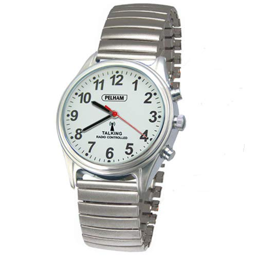 Pelham Ladies Radio Controlled Talking Watch with Expander Strap 1
