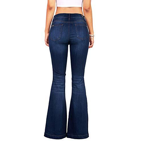 Petalum Women High Waist Skinny Solid Color Pants Slim Pencil Denim Jeans Trousers Slimming Butt Lifting 4