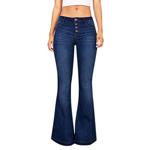 Petalum Women High Waist Skinny Solid Color Pants Slim Pencil Denim Jeans Trousers Slimming Butt Lifting 1