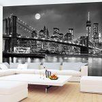 Photo Wallpaper New York 352 x 250 cm Fleece Wallpaper Living Room Bedroom Office Corridor Decoration Murals Modern Wall… 14