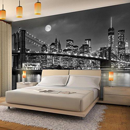 Photo Wallpaper New York 352 x 250 cm Fleece Wallpaper Living Room Bedroom Office Corridor Decoration Murals Modern Wall… 4
