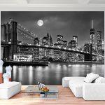 Photo Wallpaper New York 352 x 250 cm Fleece Wallpaper Living Room Bedroom Office Corridor Decoration Murals Modern Wall… 16