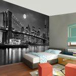 Photo Wallpaper New York 352 x 250 cm Fleece Wallpaper Living Room Bedroom Office Corridor Decoration Murals Modern Wall… 17