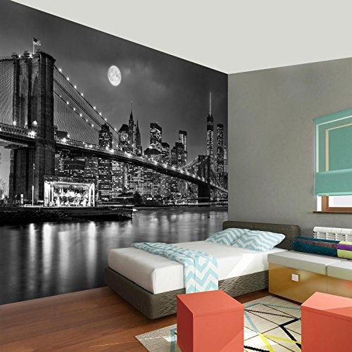 Photo Wallpaper New York 352 x 250 cm Fleece Wallpaper Living Room Bedroom Office Corridor Decoration Murals Modern Wall… 6