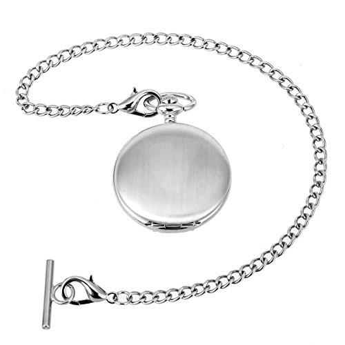 Pocket Watch Albert Vest Chain with T Bar & Lobster Clasps ManChDa Watch Chain Link & Pocket Watch Stand 3