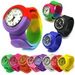 Popwatch Black Colour Slapwatch Fast Fit Kids Childrens Silicone Watch Band Learn to Tell The Time Unisex Instant Fit… 28