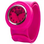 Popwatch Black Colour Slapwatch Fast Fit Kids Childrens Silicone Watch Band Learn to Tell The Time Unisex Instant Fit… 38