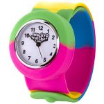 Popwatch Black Colour Slapwatch Fast Fit Kids Childrens Silicone Watch Band Learn to Tell The Time Unisex Instant Fit… 37