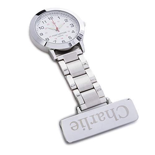 Posh Latitude Personalised Engraved Nurses Fob Watch with Gift Box – Quartz Hanging Pocket Watch for Men Women - Doctor… 4