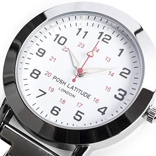Posh Latitude Personalised Engraved Nurses Fob Watch with Gift Box – Quartz Hanging Pocket Watch for Men Women - Doctor… 5