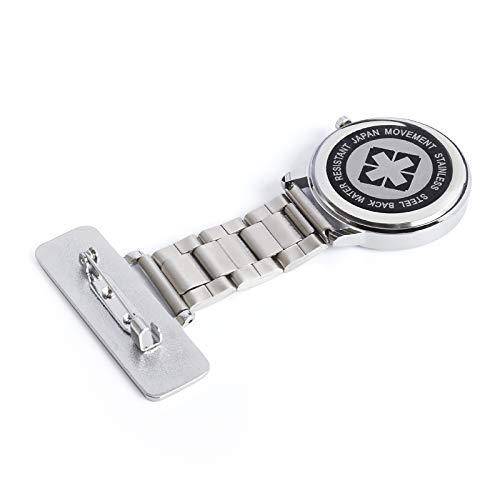 Posh Latitude Personalised Engraved Nurses Fob Watch with Gift Box – Quartz Hanging Pocket Watch for Men Women - Doctor… 6