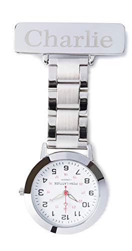 Posh Latitude Personalised Engraved Nurses Fob Watch with Gift Box – Quartz Hanging Pocket Watch for Men Women - Doctor… 1