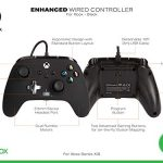 PowerA Enhanced Wired Controller for Xbox Series X|S - Arc Lightning, Gamepad, Wired Video Game Controller, Gaming… 24