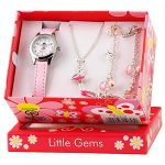 Ravel Children's 'Little Gems' Watch and Silver Plated Jewellery Set 19