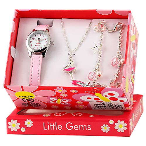Ravel Children's 'Little Gems' Watch and Silver Plated Jewellery Set 6